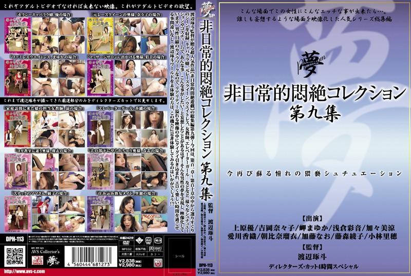 33dph00113 非日常的悶絶コレクション 第九集